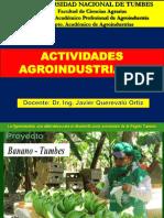ACTIVIDADES AGROINDUSTRIALES