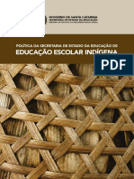 Educação Escolar Indígena