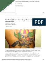 #SalaSocial PM Baiano Desvenda Significados de Tatuagens No Mundo Do Crime - BBC News Brasil