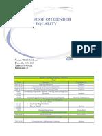 Gender Equality Reporttttt