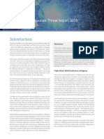 Dark Trace Autonomous Response Threat Report 2019