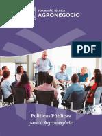 Politicas Publicas - SENAR. Formação técnica em Agronegocio.
