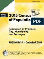 2015 Population Census