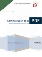 AE - Administración de Empresas