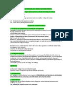 Derecho Procesal Del Trabajo Segundo Parcial