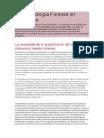 La odontología forense en Venezuela