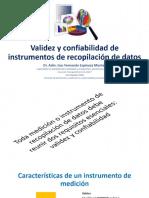 1 Validez y Confiabilidad de Instrumentos de Recopilación De1 Datos 1