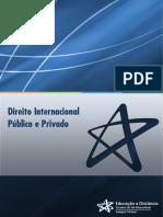 DIREITO INTERNACIONAL PRIVADO E PUBLICO