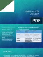 Farmacologia Urologia, Especiales y Cosmeticos