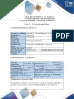 Guía de Actividades y Rúbrica de Evaluación - Paso 5 - Presentar Resultados
