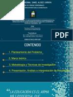Diapositivas - Sustentación UNDAC
