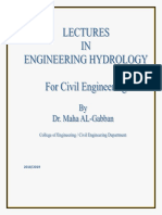Lec 1 Introduction to Hydrology