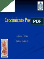 Crecimiento Postnatal Presentacion Jave