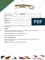 Formulário para redação