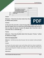 English Notes Ba