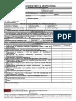 Formato de Examen Medico Laboral