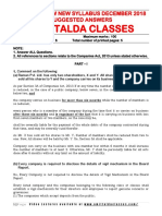 Company Law NEW SYLLABUS Suggested Answers Decembe-Executive-Revision