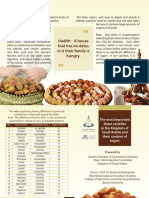 The Most Important Dates Varieties in the Kingdom of Saudi Arabia and Their Sugar Content