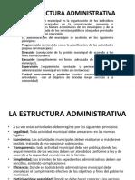 La Estructura Administrativa