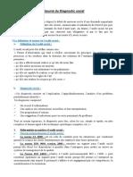 Résumé Du Diangnostic Social (1)