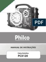 Manual Caixa de Som Philco