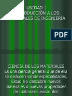 Procesos de Manufactura 2 Unidad 1