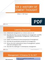 Chapter 2 History of Management Thought-ppt