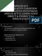 Speech Act(1)