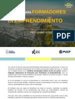 (2° conv) PROGRAMA INTERNACIONAL DE FORMADORES EN EMPRENDIMIENTO