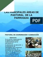 24. Las Principales Áreas de Pastoral de La Parroquia (1)