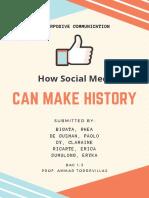 How social media can make history
