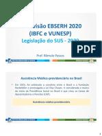 Revisao Ebserh Ibfc Vunesp Sus 2020
