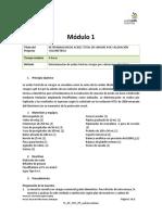 71 - Análisis Químico PP MODULO 1 - Vinagre