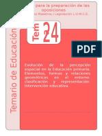 Tema 24 Lomce - Primaria 2019