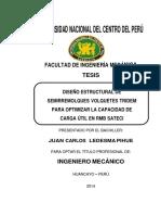 DISEÑO ESTRUCTURAL DE SEMIRREMOLQUES VOLQUETES TRIDEM Ledesma Pihue