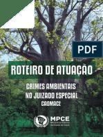 roteiro de atuação em crimes ambientais no juizado especial