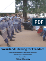 Swaziland Striving for Freedom Vol 35 July to Sept 2019