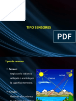 Tipo de Sensores Remotos