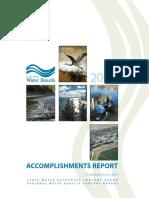 Accomplishments Report2010