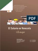 Ensayo Del Salario Derecho Laboral III