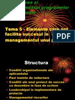 Tema 5 - Elemente de Succes La Un Proiect