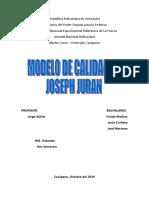 MODELO DE CALIDAD DE JOSEPH JURAN