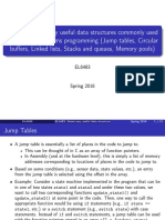 data structures in embedded systems