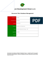 PR-1721 - Shutdown Management.doc