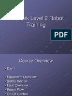 Modatek Level 2 Robot Training