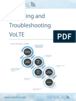 Analyzing and Troubleshooting VoLTE