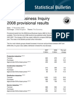 Annual Business Inquiry 2009