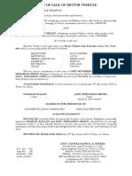 Deed of Sale MV - Jitney Rullan