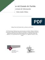 Codigo Penal Del Estado Libre y Soberano de Puebla 20sep2019
