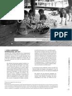 Crisis Alimenticia Mexico